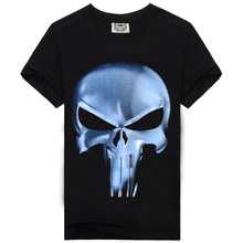 Mens t Shirts Fashion 2016 Summer Men's Wear 3D Printed Skull t shirt Homme Brand Clothing Funny t Shirts Compression Shirt