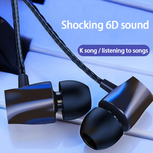 Купить с кэшбэком Headphones upgrade version adjustable sound subwoofer ear-hook headphones HIFI cable HD noise reduction unisex 1.2m headphones