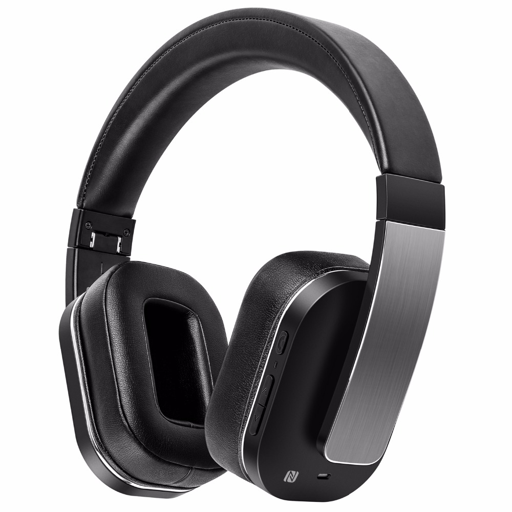 Sound Intone F9 Active Noise Cancelling Bluetooth Headphones with Microphone Over Ear Headset Hi-Fi Deep Bass Wireless Headphone 914 5 cool hi fi wired headset w microphone for xbox360 black 110cm