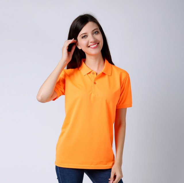 b2f855815ce 2018 Summer mecerized cotton solid color camisa polo shirt women accept  custom logo printed camisas mujer polo femme women polo