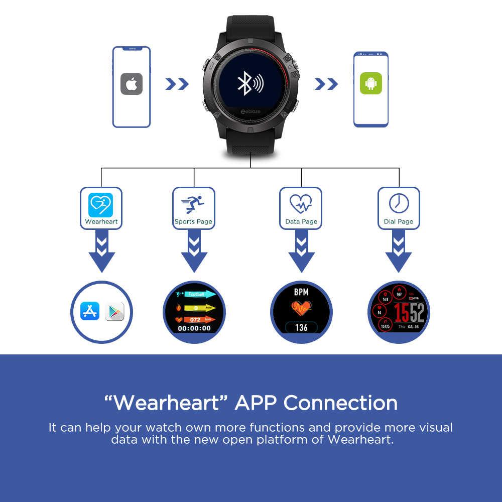 Zeblaze VIBE 3 EKG Instant EKG auf nachfrage Farbe Display Herz Rate IP67 Wasserdichte Multi-sport Modi Fitness Tracker smart uhr