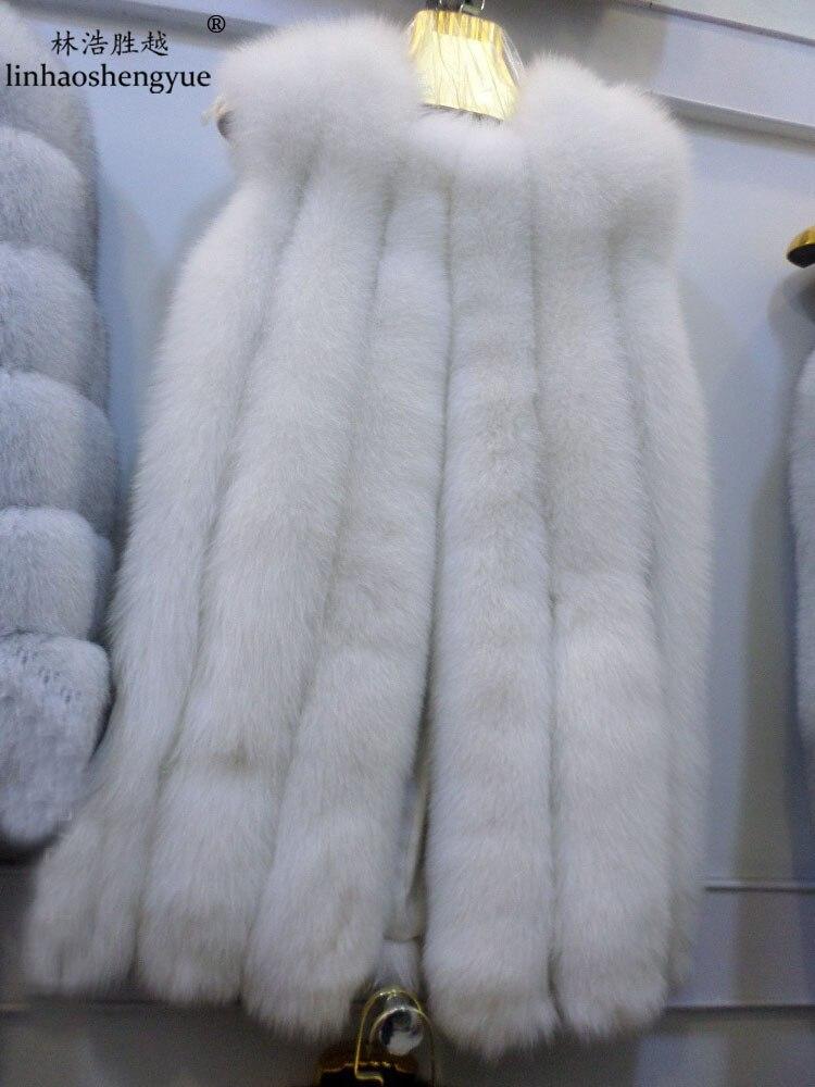 Linhaoshengyue lONG 76cm Senior lithiové liškové barvy propracované vesty