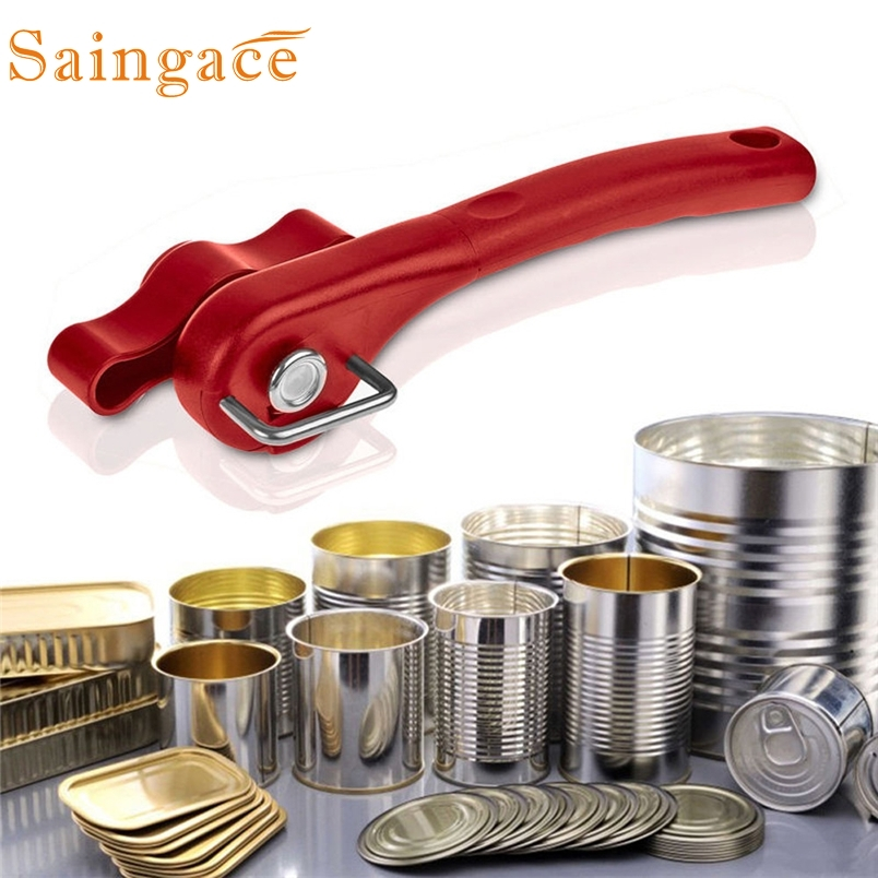 Saingace can opener best Professional Multifunction Stainless Steel Can Tin Opener FOR Kitchen*30 GIFT 2017 Drop