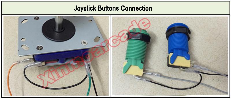 x for joystick buttons