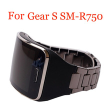 Replacement Metal Watch Bracelets Band Strap for Samsung Galaxy Gear S SM-R750 Smart Watch Band Stainless Steel Unisex Bracelet replacement bands for samsung galaxy gear s sm r750 smart watch soft tpu classic watch band style with metal buckle