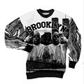 New Fashion Men/Womens Smalls Brooklyn in New York 3D Print Sweatshirt Hoddies S M L XL XXL 3XL 4XL 5XL