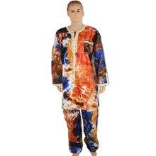 Комплект одежды md в африканском стиле для мужчин топы и брюки