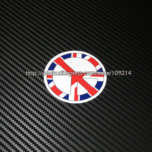 Hot sale Uk Flag helmet motorcycle Sticker Decals Waterproof 20