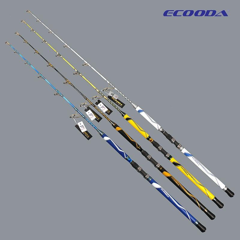 Free Shipping ECOODA CHEETAH II Jigging Rod ECJ II 1.52-1.70m 150g-500g BOAT ROD JAPAN FUJI SIC GOLD GUIDE  Special Sale