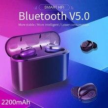 Новые наушники x8s tws audifono bluetooth 5,0, беспроводные наушники с микрофоном hd bass sound fone de ouvido, kulaklik pk airdots