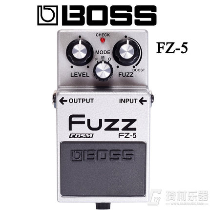 Boss Audio FZ-5 Fuzz Pedal with Vintage Tones, COSM Technology, Boost Control, and Metal Case Construction *Free Pedal Case image