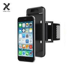 """4,7-5,"""" антидетонационный Повседневный Спортивный нарукавник для Apple iPhone 7 Plus для бега на открытом воздухе держатель для мобильного телефона нарукавная Повязка-переноска чехол сумка на молнии"""