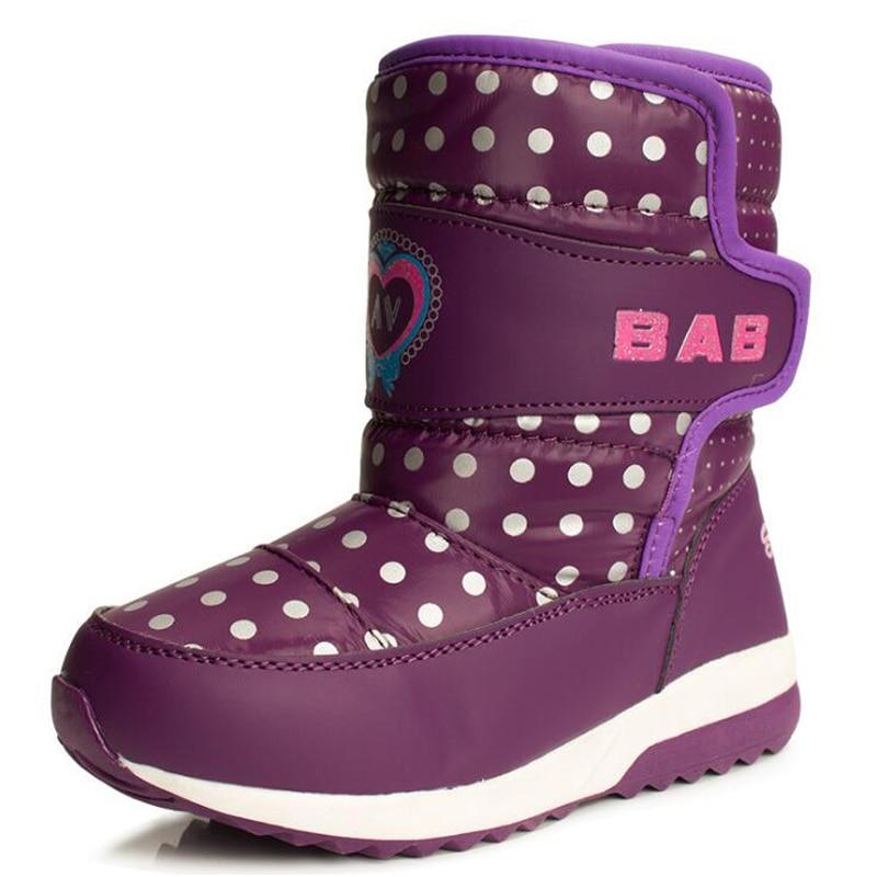 Bottes Chaussures Enfants de Plate Enfants D'hiver Forme NXnwPkO80