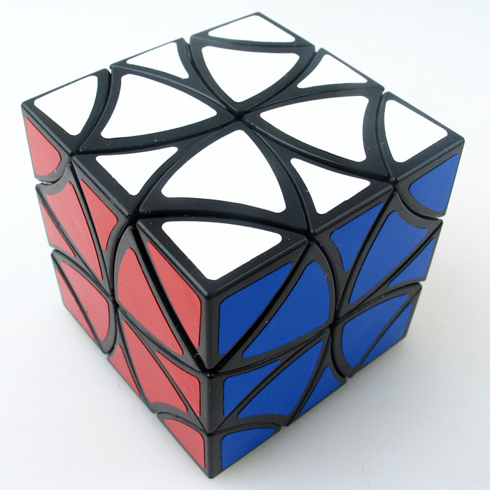 Z cube Curvy butterfly magic cube Twelve shaft flower Petals helicopter Cube Puzzle Moyu yancheng 3x3