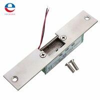 ステンレスドア12ボルトdcフェイルセーフno狭い型ドア電気ストライクロックのアクセス制御電源ロックセキュリティ安全に