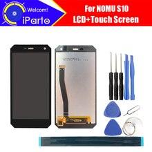 5,0 zoll NOMU S10 LCD Display + Touch Screen 100% Original Neu Getestet Digitizer Glasscheibe Ersatz Für S10
