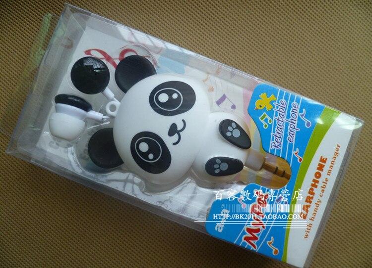 Ohrhörer Kopfhörer mit Geschenkbox Panda automatische versenkbare - Intelligente Elektronik - Foto 2