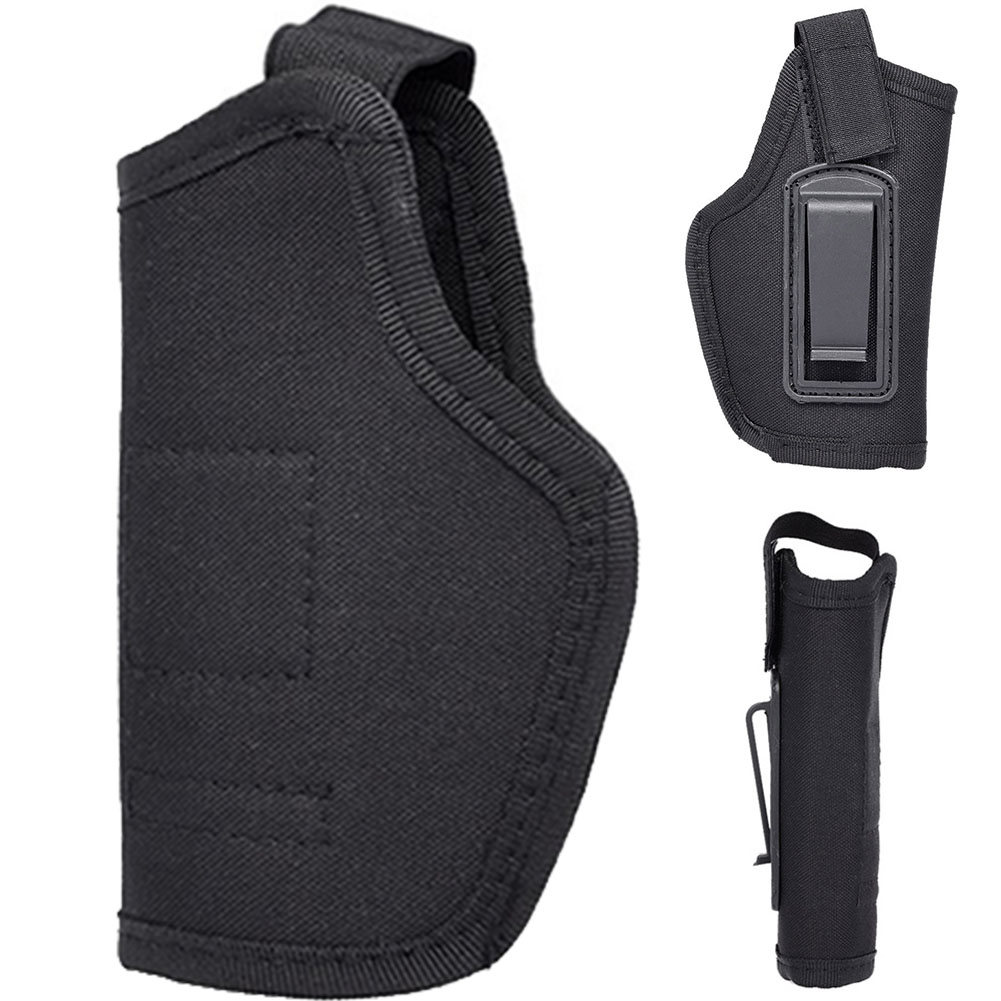 Universal Random Color Right Left Carry Pouch Oxford Fabric Gun Holster Portable Hunting Bag Tactical Concealed Outdoor Sport