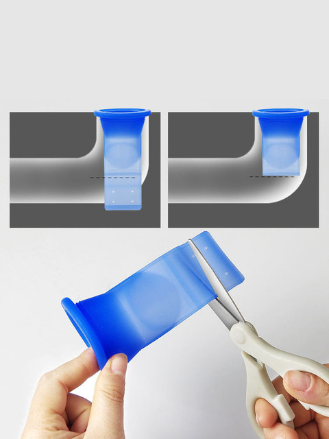 Bathroom odor-proof leak core silicone down the water pipe draininner core kitchen bathroom sewer seal leak Home Decor & Toys