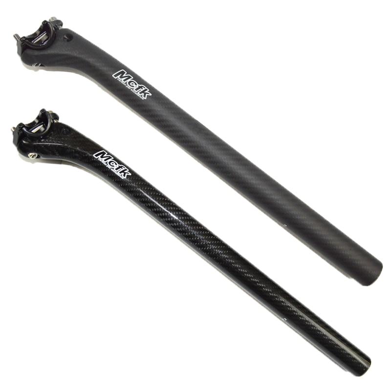 Carbon Fiber Seatpost MTB Road Folding Bike Seat Post 27.2//30.8//31.6//33.9//34.9mm