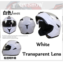 Safe Flip Up Motorcycle Helmet With Inner Sun Visor