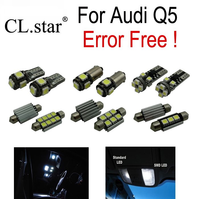30pc X canbus Error Free for Audi Q5 Quattro LED Reading lamp Interior dome Light Kit Package (2009-2016) коробка передач audi 80 quattro б у куплю в донецкой области