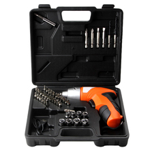 45Pcs 4.8V Cordless Screwdriver Drill Driver Bits Set Rechargeable Electric Tool