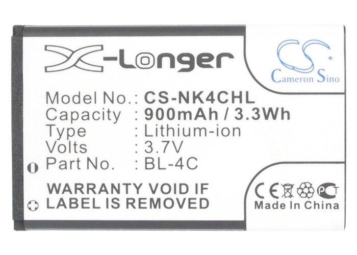 Cameron Sino Hoge Kwaliteit 900 Mah Batterij C4c08t, C4c50t, C4c60t, C4c85t Voor Blu Klik, Control Deejay, Kick, Samba Elite, Mini, Q, Tv2go, Vida Voor Een Soepele Overdracht