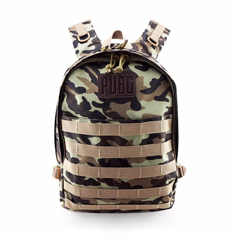 Game PUBG Canvas Backpack Playerunknown's Battlegrounds Cosplay Props Chicken Dinner