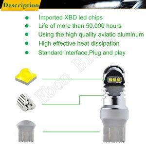 Image 3 - 1 X T20 7440 W21W WY21W 7443 W21/5 W XBD Chip 30W LED Front Tail Richtingaanwijzer brake Reverse Drl Lamp Wit Amber ROOD 12v 24v