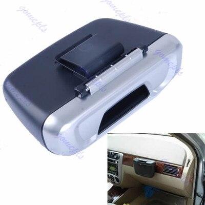 Mini Auto Car Trash Rubbish Can Garbage Dust Case Holder Box Bin Free Shipping