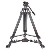 DHL progo Jieyang jy0508 jy 0508 8 кг Professional камера штатив видео штатив/Штатив для DSLR видеокамеры с плавающей головкой демпфирования для видео