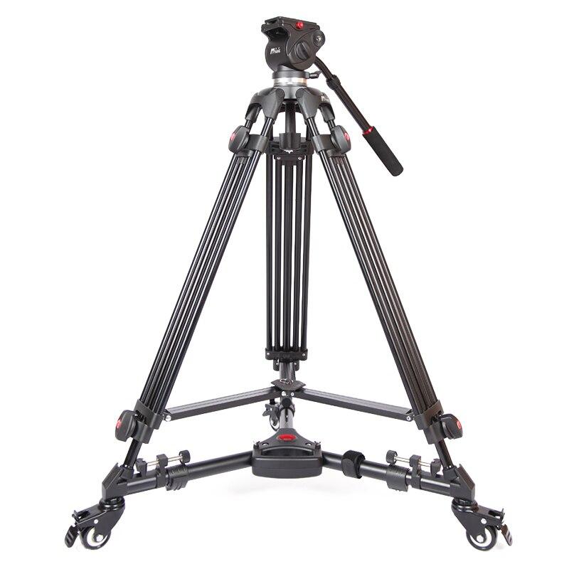 DHL PROGO JIEYANG JY0508 JY-0508 8 KG Professionellen Kamerastativ Video Stativ/Dslr VIDEO Stativ Flüssigkeit Kopf Dämpfung für video