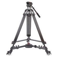 DHL PROGO JY0508 JY-0508 8กิโลกรัมขาตั้งกล้องมืออาชีพขาตั้งกล้องวิดีโอ/Dslrขาตั้งกล้องวิดีโอของเหลวหัวหมาดสำหรับวิดีโอขายส่ง