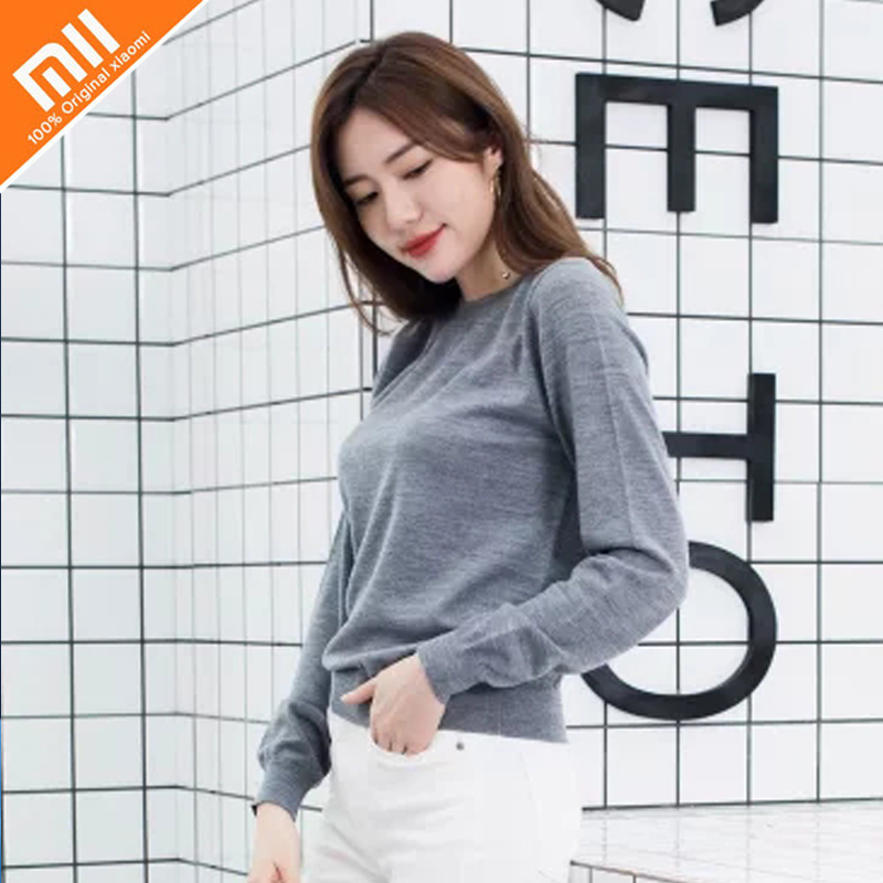 3 colors xiaomi mijia PROEASE100% Merino female sweater sweater light warm and environmentally friendly dyeing pratima bajpai environmentally friendly production of pulp and paper
