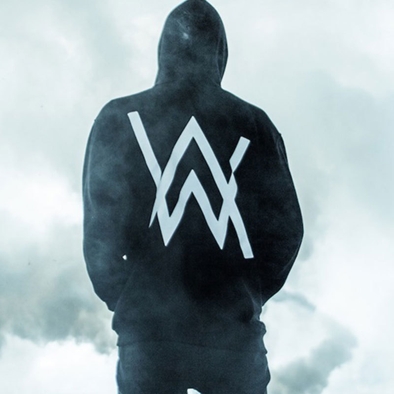 DJ Alan Walker Hooded Hoodies Men Zipper Pullover Long Sleeve Denon Faded Sweat Homme Alan Walker Singer Hoodie Hip Hop Clothing