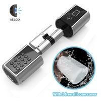 L5PB Plus Smart Locks Home Electronic Security Digital Keypad Hardware Lock Keyless EURO Lock Core Cylinder