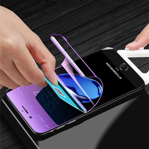 Image 2 - Soft Volledige Cover Hydrogel Film Voor Xiaomi Mi A2 Lite Play Beschermende Film Mi Pocophone F1 Telefoon Screen Protector Niet Glas