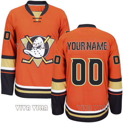 Mighty Ducks Hockey Jersey Customized Any Name Any Number High Quality Stitched Logos Throwback Ice Hockey Jersey S-4XL anime eva neon genesis evangelion action figure ayanami rei pvc figure models toy figures gifts 19cm free shipping