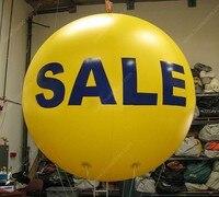 Kostenloser versand BIG VERKAUF 2 m/6.5ft riesigen aufblasbaren ballon|Aufblasbare Hüpfburg|Spielzeug und Hobbys -