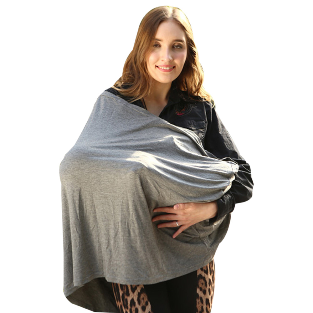 Materity Top Car Seat Cover Nursing Cover Scarf Baby Stroller Canopy Accessories