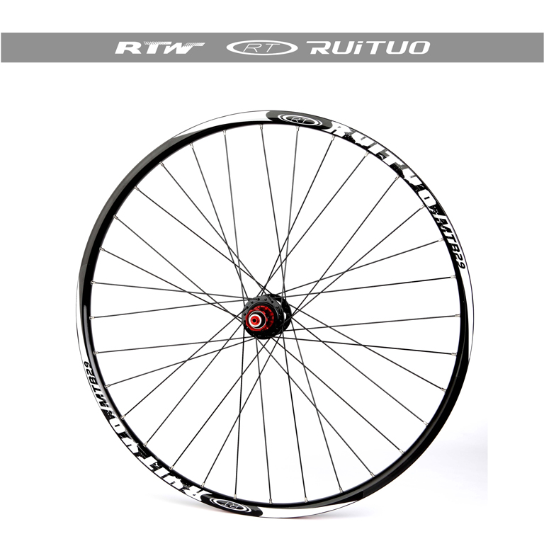 MTB mountain bike wheels ultra light 26 inch 27.5 inch wheels before 2 5 Peilin bearing disc quick release wheels gub 116 titanium axle safety quick release mountain bike bicycle use al6061 t6 tc4 light weight quick dismantling mtb