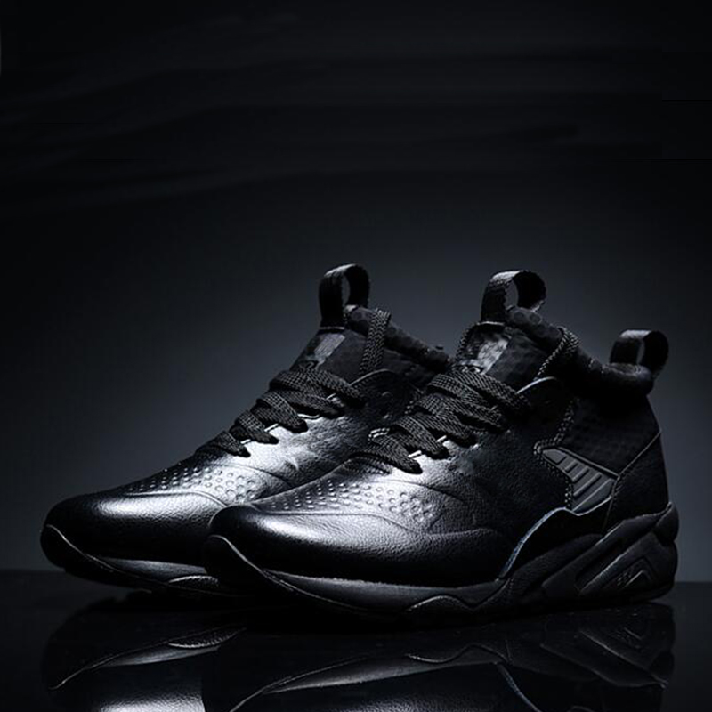New Brand Running Shoes For Men Black Breathable Lace Up Top Quality Men's Sneakers Cushioning Sport Tennis Shoes Lance 580