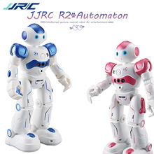 JJRIC JJRC R2 Dancing Robot Toy Intelligent Gesture Control RC Robot Kit Action Figure Programming Birthday Gift For Kid JJR/C(China)