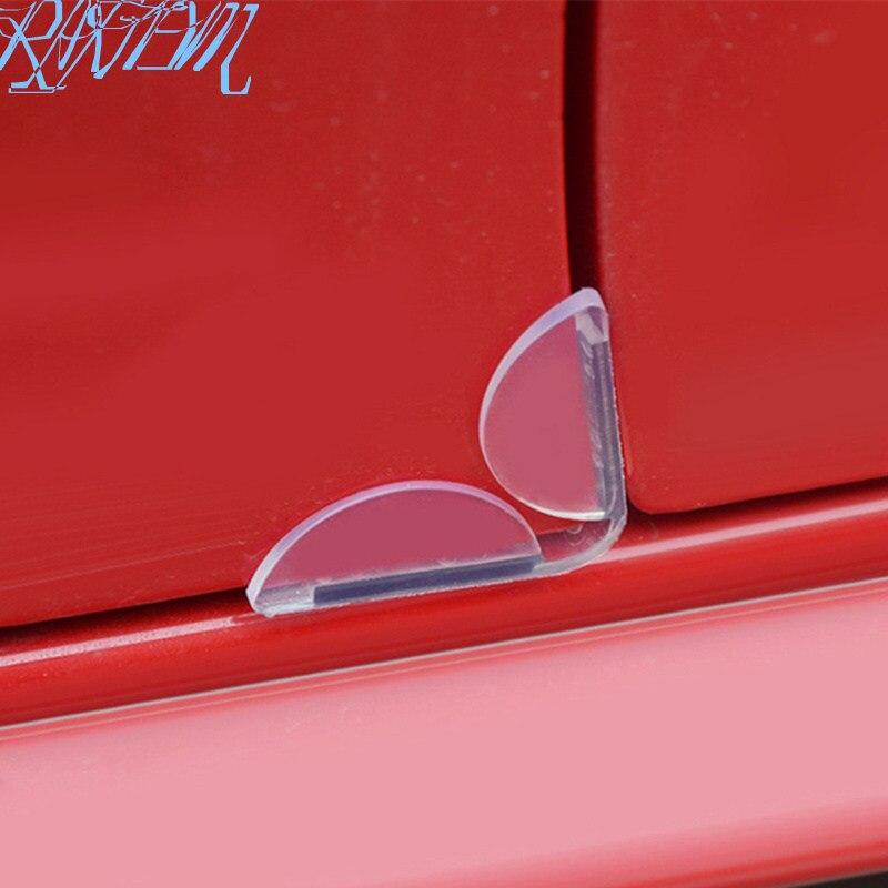 Защитные щитки для края автомобильной двери из ПВХ, 4 шт./компл., защита от царапин в нижней части для Skoda Октавия Рапид A2 A5 RS A7 Yeti Fabia