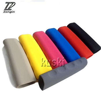 ZD Car Styling Parking Handbrake Covers For Hyundai BMW e46 e39 e36 Audi a4 b6 a3 a6 c5 Renault duster Lada granta accessories image