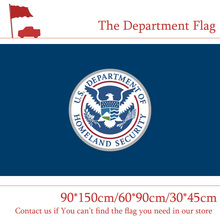 3x5ft Department of Homeland Security Secretary Flag The United States American 90*150cm 60*90cm 30*45cm Car For Decoration
