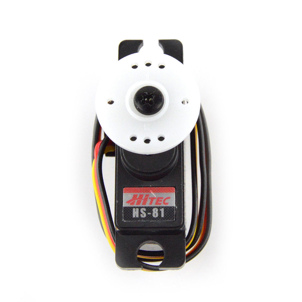 Aliexpress com : Buy 100% Hitec HS 81 12mm Mini Analog Servo 16,6g 2,6/3,1  kgcm 4,8V 6,0V from Reliable Parts & Accessories suppliers on RC Parts