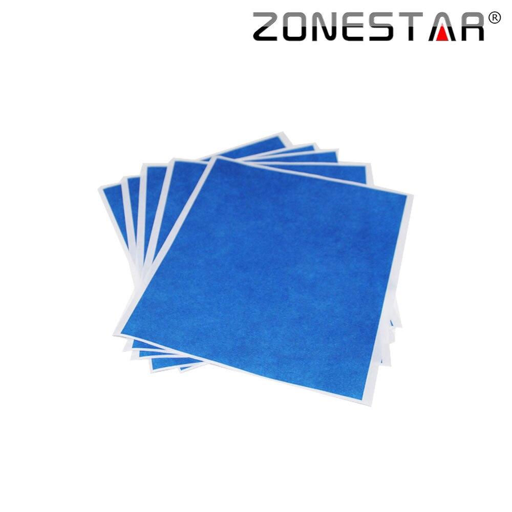 Zonestar 5 PCS-lot 3D printer Blue High temperature tape 5 sheets 200mm * 210 mm