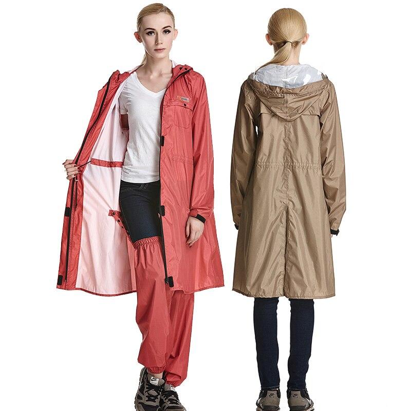 QIAN Impermeable แฟชั่นเสื้อกันฝนผู้หญิง/ชายกันน้ำ Poncho เสื้อโค้ท Rain Coat ผู้หญิงแบบพกพา Rainwear Rain เกียร์ Poncho-ใน เสื้อกันฝน จาก บ้านและสวน บน AliExpress - 11.11_สิบเอ็ด สิบเอ็ดวันคนโสด 1